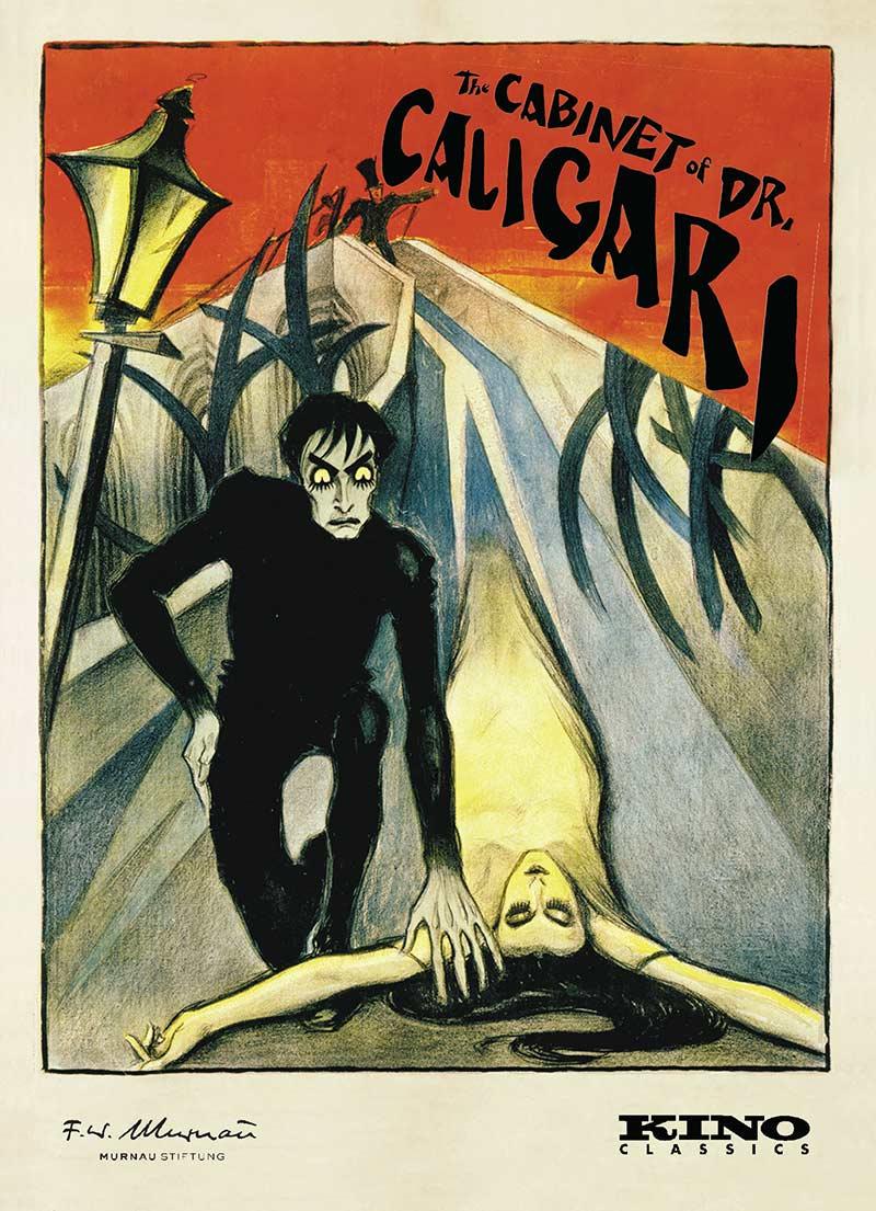 DJ Spooky rescores legendary film The Cabinet of Dr Caligari by Robert Weine