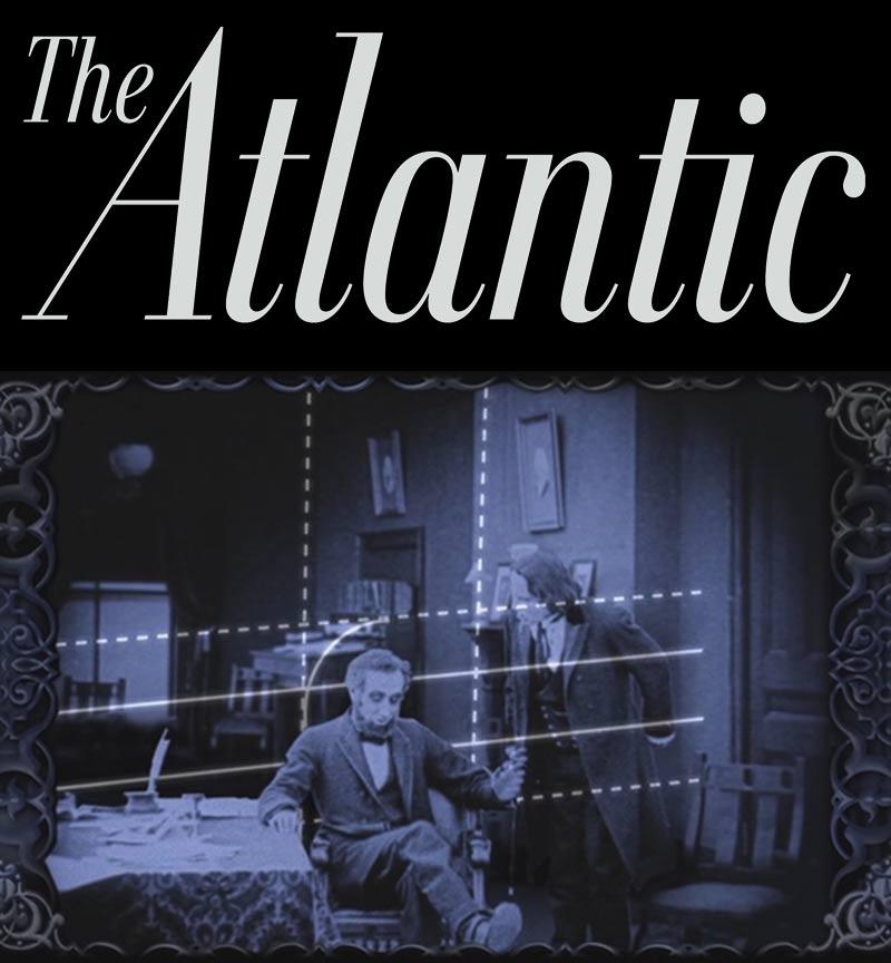 Atlantic Magazine feature on DJ Spooky