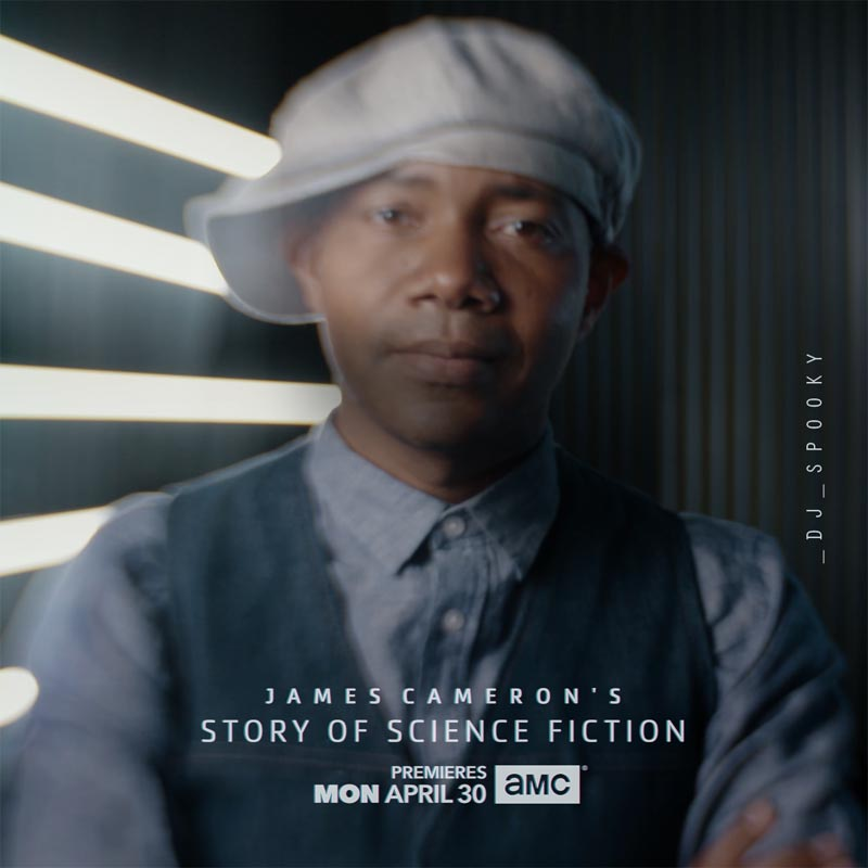 DJ Spooky featured in the new film series by renowned film director James Cameron