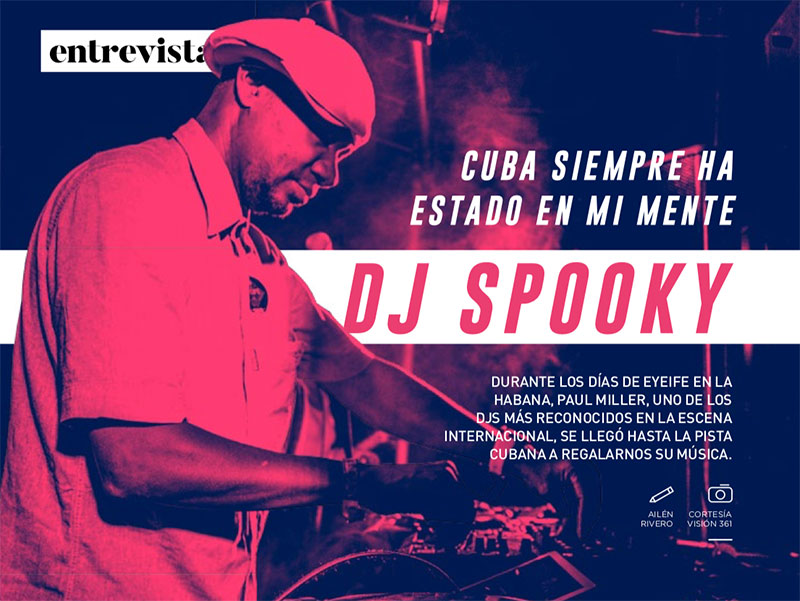 DJ Spooky in Vistar Magazine